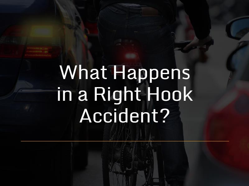 What is a right hook accident?