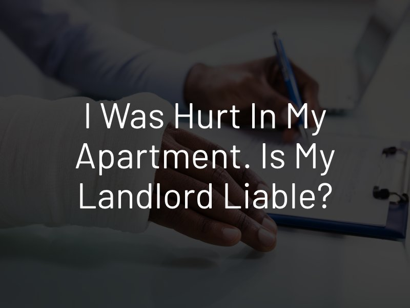 landlord liable for injury