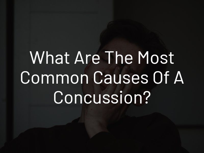 most common causes of a concussion