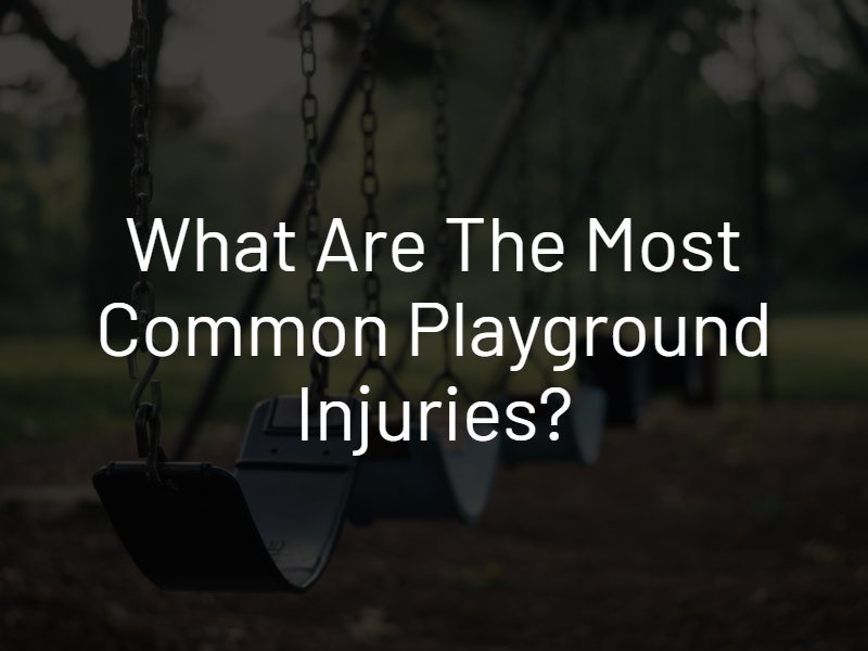 common playground injuries