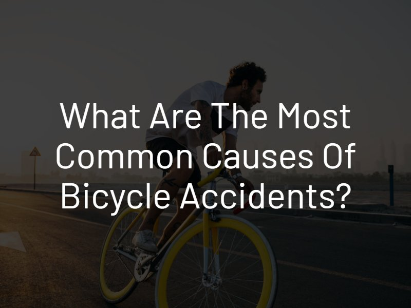 causes of bicycle accidents