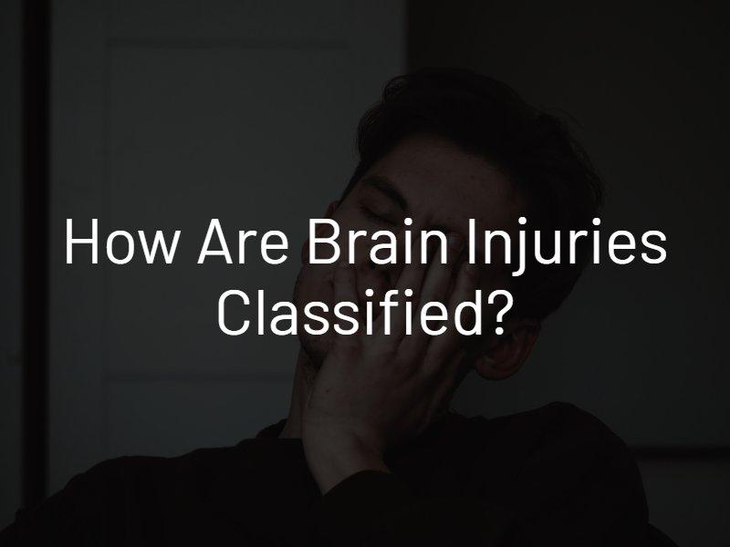 brain injury classification